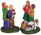 Lemax Harvest Crossing Village Sticky Apples 2-Piece Figurine Set