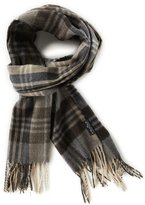 Fraas Tonal Plaid Muffler