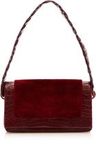 Nancy Gonzalez Sheered Mink Flap Shoulder Bag