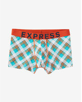 Express plaid sport trunk