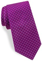 Ted Baker Men's Geometric Grid Silk Tie