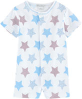 Kissy Kissy Pima cotton jersey shortall - Star Lite