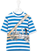 Stella McCartney adventurer print T-shirt - kids - Polyamide/Spandex/Elastane - 2 yrs