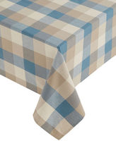Home Studio Nantucket Plaid Tablecloth