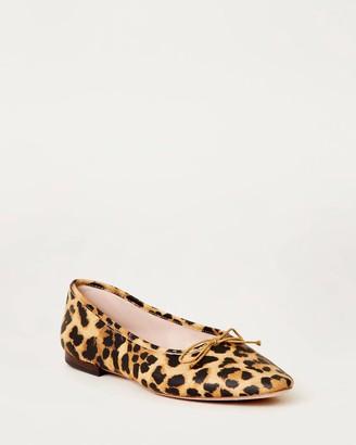 Loeffler Randall Georgie Ballet Flat Leopard