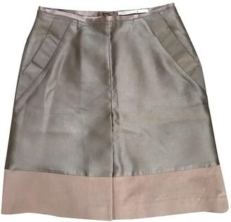 Schumacher Beige Cotton Skirt for Women