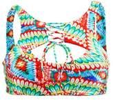 Luli Fama Multicolor Bralette Swimsuit Wild Heart.