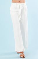 Hale Bob Chandi Crepe Trousers In Ivory