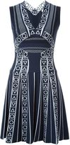 Peter Pilotto 'Index' knit mini dress