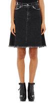 Acne Studios Women's Denim Gisella Midi-Skirt-BLACK