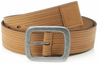 Original Penguin Men's Leather Belt 1 Tan Belt 32