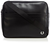 Fred Perry Black Textured Shoulder Bag