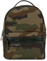 Moncler George camouflage print backpack - men - Leather/Nylon - One Size