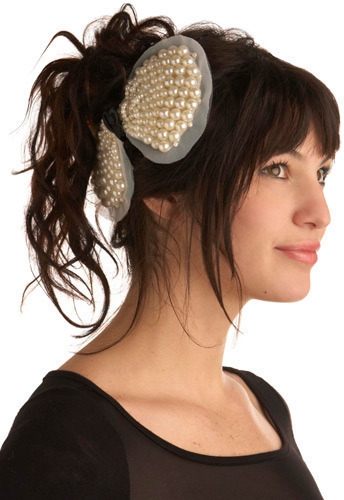Duchess of Pearl Hair Clip
