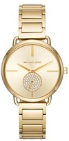 MICHAEL Michael Kors Women's Portia Round Bracelet Watch, 36.5Mm