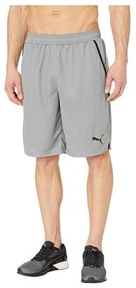 Puma RTG Interlock 10 Shorts (Medium Gray Heather) Men's Shorts