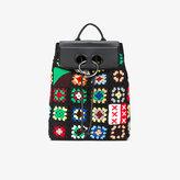 J.W.Anderson Pierce crochet backpack