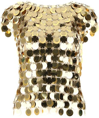 Paco Rabanne Sequins Top