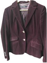 HUGO BOSS Purple Velvet Jacket for Women