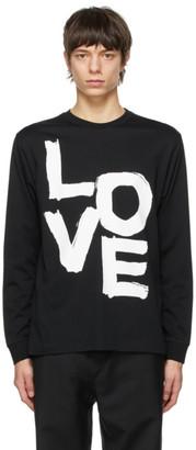 Burberry Black Axton Long Sleeve T-Shirt