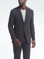 Banana Republic Slim Seersucker Wool-Blend Suit Jacket