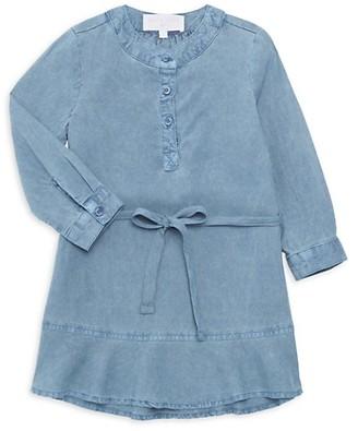Bella Dahl Little Girl's Girl's Belted Shirtdress