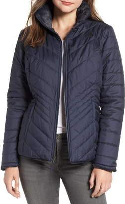 The North Face Mossbud Reversible Heatseeker(TM) Wind Resistant Jacket