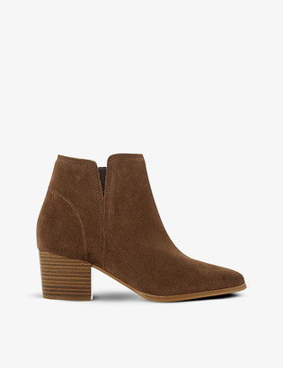 Dune Payge nubuck leather ankle boots