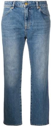 Victoria Victoria Beckham Cali cropped jeans