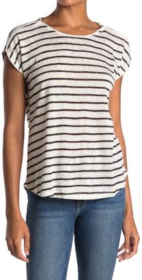 Bobeau Cap Sleeve Boxy T-Shirt