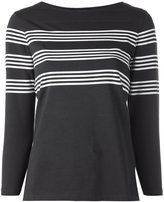 A.P.C. cropped sleeve top - women - Cotton - XS