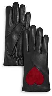 Aqua Heart Leather Tech Gloves - 100% Exclusive