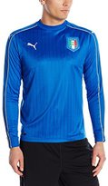 Puma Men's Figc Italia Home Long Sleeve Replica Shirt