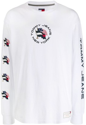 Tommy Jeans Summer Flag printed T-shirt