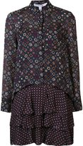 Derek Lam 10 Crosby printed shirt dress - women - Silk - 0