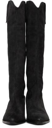 Isabel Marant Black Suede Denvee Tall Boots