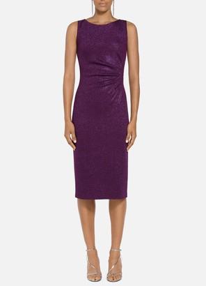 St. John Milano Knit Bateau Neck Dress