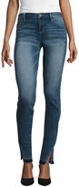 Arizona Twisted-Seam Released-Hem Cropped Jeans - Juniors