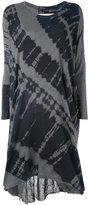 Raquel Allegra tie-dye T-shirt dress - women - Cotton/Polyester - 1