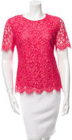 Jason Wu Short Sleeve Lace Top
