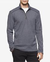 Calvin Klein Men's Jacquard Quarter-Zip Sweater