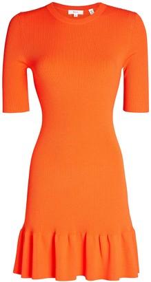 A.L.C. Vance Rib Knit Mini Dress
