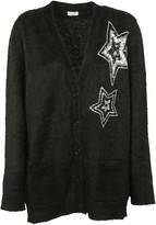 Saint Laurent Star Embellished Cardigan
