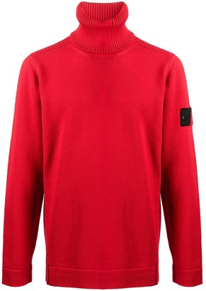 Stone Island Shadow Project Roll-Neck Jumper