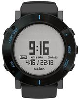 Suunto Men's Core Graphite Crush 50mm Silicone Band Quartz Watch Ss021372000