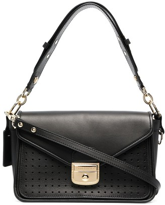 Longchamp small Mademoiselle perforated tote bag