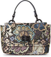 Steve Madden Brocade Top Handle Crossbody Bag