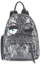 Chiara Ferragni Flirt Embellished Mini Backpack
