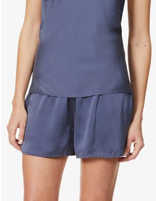Skin Trista silk pyjama shorts