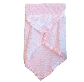 Zalamoon Stroller Plush Blanket - Blush